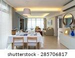luxury interior living room | Shutterstock . vector #285706817