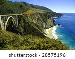 bixby bridge hwy. 1 california