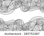 vector   abstract card ... | Shutterstock .eps vector #285752387