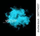 vector illustration of blue...   Shutterstock .eps vector #285774557