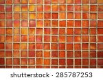 luxury unusual abstract mosaic ...   Shutterstock . vector #285787253
