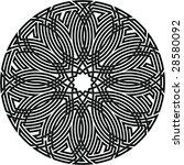 celtic knot  67 | Shutterstock .eps vector #28580092