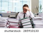 sadness manager have so many... | Shutterstock . vector #285910133
