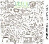 Garden Themed Doodle Set....