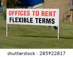 offices to rent   flexible... | Shutterstock . vector #285922817