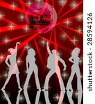 disco party 5 | Shutterstock . vector #28594126