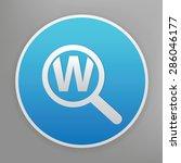 keyword searching design icon...