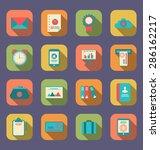 illustration modern flat icons...