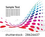 abstract malty color wave... | Shutterstock .eps vector #28626637
