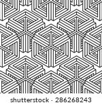 contemporary abstract vector... | Shutterstock .eps vector #286268243