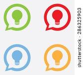 idea icon in chat bubble
