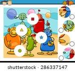 cartoon illustration of match...   Shutterstock . vector #286337147