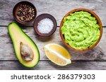 ingredients for homemade... | Shutterstock . vector #286379303