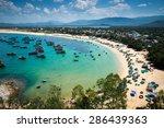 beach in phu yen province ...   Shutterstock . vector #286439363