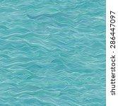 seamless waves background.... | Shutterstock .eps vector #286447097