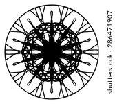 vector illustration circle... | Shutterstock .eps vector #286471907