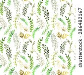 seamless pattern with... | Shutterstock . vector #286482167