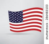america flag icon | Shutterstock . vector #286483103