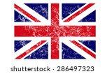 grunge uk flag vector art   Shutterstock .eps vector #286497323