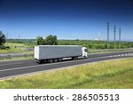 truck on the road | Shutterstock . vector #286505513