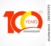 Template Logo 100th Anniversar...