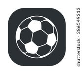 ball icon.  | Shutterstock .eps vector #286549313