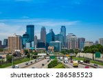 Skyline In Minneapolis ...