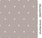 white lace seamless pattern.... | Shutterstock .eps vector #286595783