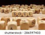 soul word concept   Shutterstock . vector #286597403