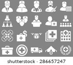 medical icon set. style  icons... | Shutterstock .eps vector #286657247