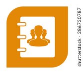 notebook  address  phone book... | Shutterstock . vector #286720787