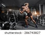 bodybuilder professional ... | Shutterstock . vector #286743827