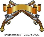 flintlock dueling pistols with