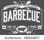 invitation template for... | Shutterstock .eps vector #286818827