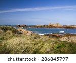 coastal scene on guernsey