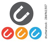 magnet symbol set  | Shutterstock .eps vector #286961507