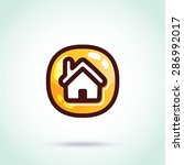 vector home icon. creative...