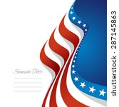 Abstract Us Flag Right Cover...
