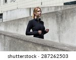 urban people have to choose... | Shutterstock . vector #287262503