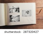 fathers day composition   photo ...   Shutterstock . vector #287320427