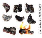 Charcoal  Carbonize  Carbon....