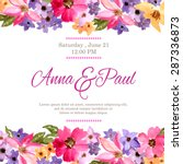 Wedding Invitation With...