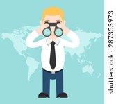 search man concept vector   Shutterstock .eps vector #287353973