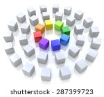 abstract unity  | Shutterstock . vector #287399723