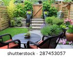 Small Townhouse Garden With...