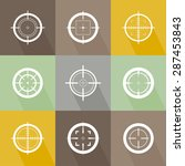 collection of vector flat...   Shutterstock .eps vector #287453843