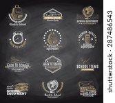 vector set of labels  badges... | Shutterstock .eps vector #287486543