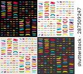 paper sticker  banner... | Shutterstock .eps vector #287509247