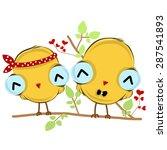vector illustration of sweet... | Shutterstock .eps vector #287541893