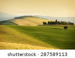 Rolling Hills In Summer. Pienz...
